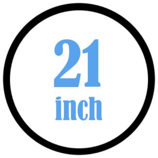 21 inch