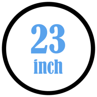 23 inch