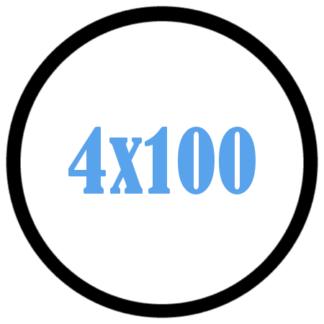 4x100
