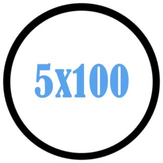 5x100