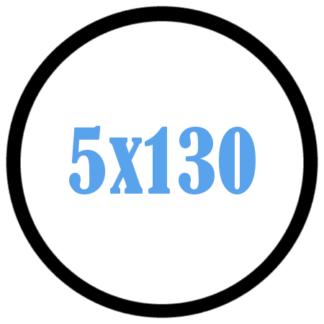 5x130